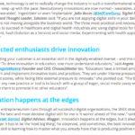 Innovation and digital skills
