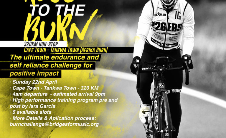 ride to the burn challenge