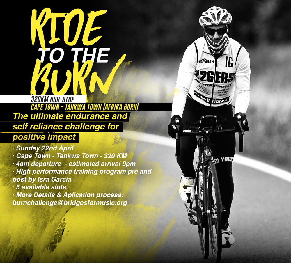 ride to the burn challenge - extreme challenge
