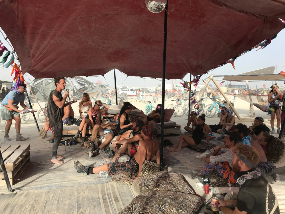 burning man . what you can expect